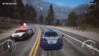 NFS Payback - Razor's BMW M3 GTR (E46) Abandoned Car Location, Police Chase and Jump