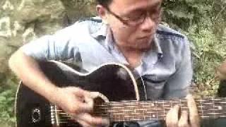 Tóc em đuôi gà - guitar cover