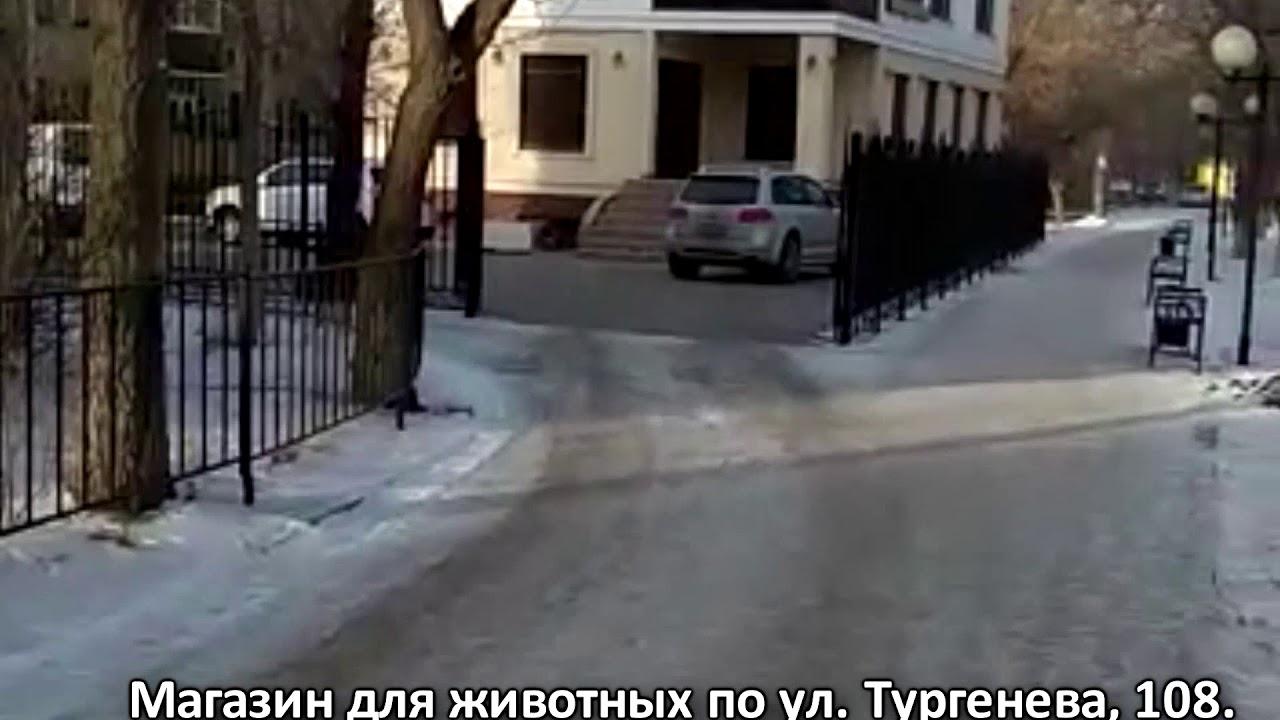 Народный репортер: Прямо по тротуару заезжают в магазин ...