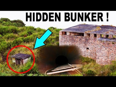 UNDERGROUND ABANDONED WAR BUNKER FOUND AND OPENED !
