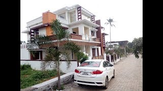 Beautiful house for sale 6 cent 2600 sqft 4 bhk with well water- close to main road