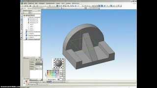 Создание детали в Компас 3D