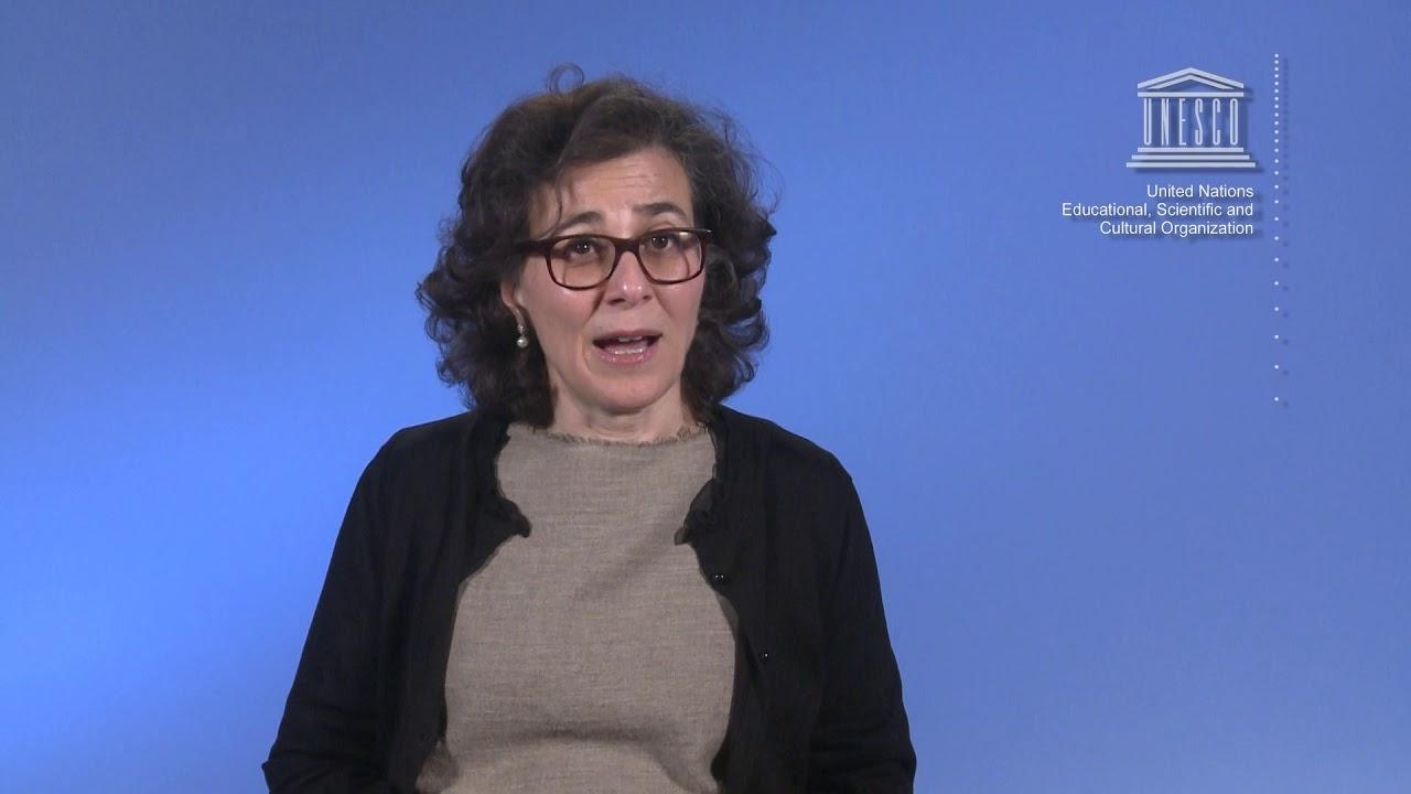Nada Al Nashif UNESCO UNAM Prize 1 - YouTube
