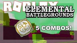 5 TYPE OF ANGEL COMBOS! | Roblox Elemental Battleground