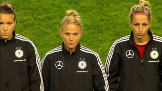 Women's Euro-2017 qualification. Russia - Germany (16/09/2016)