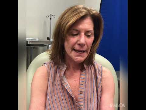 Testimony by neck and facelift patient for Dr. Robb Jr