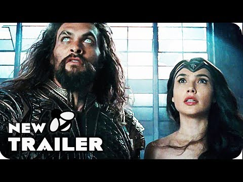 JUSTICE LEAGUE Extended Trailer Compilation Comic Con (2017)