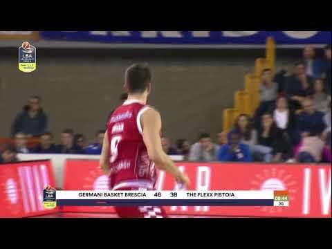 HIGHLIGHTS / Germani Basket Brescia - The Flexx Pistoia 76-72
