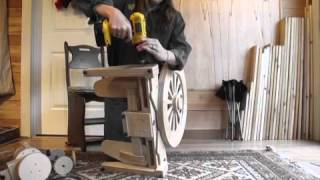 Spinolution Wind spinning wheel assembly