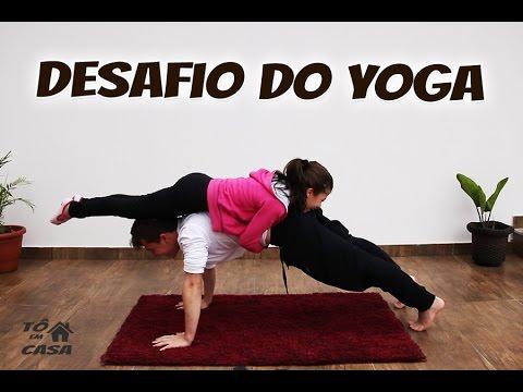 DESAFIO DO YOGA - Canal tô em Casa