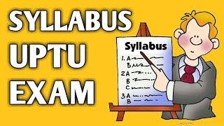 UPTU/UPSEE Entrance Exam Syllabus