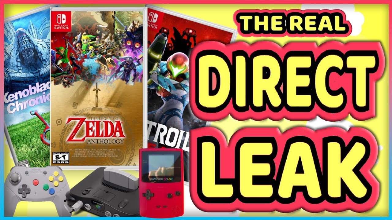 Download The Nintendo Direct Leak Was REAL! | Here's What to Expect TOMORROW!
