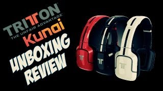 Tritton Kunai | Unboxing & Review [Español]