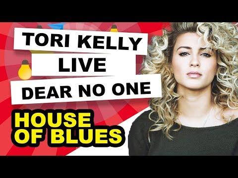 Tori Kelly - Dear No One - Live @ The House of Blues LA 8-9-12