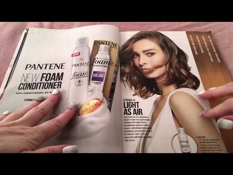 ASMR RELAXING MAGAZINE BROWSE #11 COSMOPOLITAN CLOSE UP WHISPER