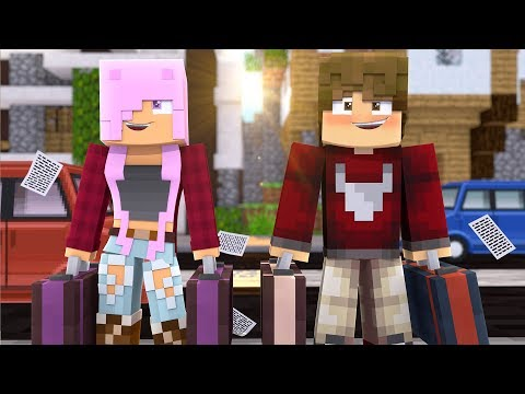 JAY & KATIE MOVING IN TOGETHER! - Parkside University EP11 - Minecraft Roleplay