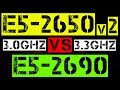 XEON E5-2650v2 VS E5-2690