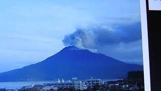 EXCLUSIVE SAKURAJIMA: JAPAN VOLCANO, CONTINUAL ERUPTION