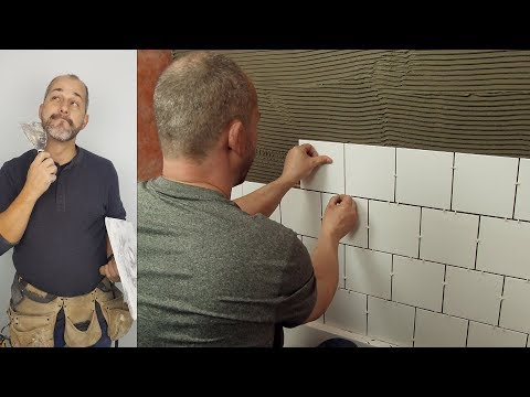 How To Install Inexpensive Ceramic Tile In Your Shower