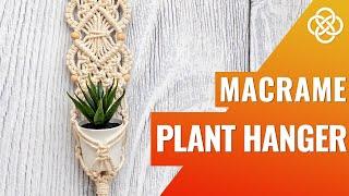 MACRAME PLANT HANGER WITH BEAD…
