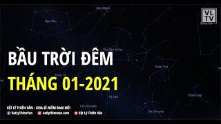 Bầu trời đêm tháng 01-2021 | VLTV