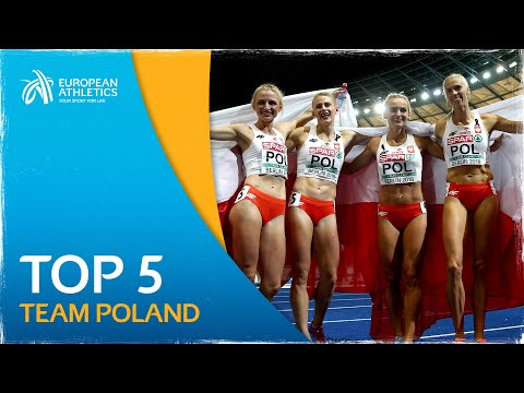 STUNNING TOP 5 performances from the Polish women's 4x400m Team