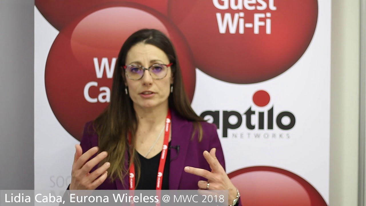 Customer interview with Lidia Caba from Eurona at MWC 2018