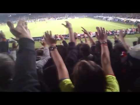 Ambiance Virage Nord Gerland | Lyon 0 - 1 Juventus Turin | 3/04/2014