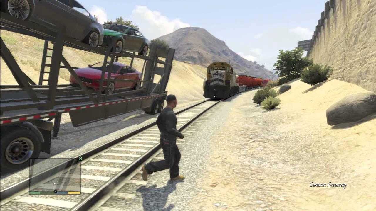GTA 5 TRAILER CARS TRUCK - YouTube