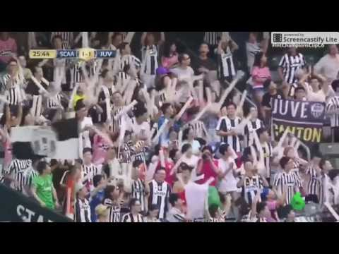South China Club 1-1 Juventus GOAL GOAL GOAL!!!