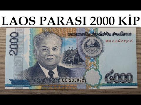 Laos Parası 2000 Kip