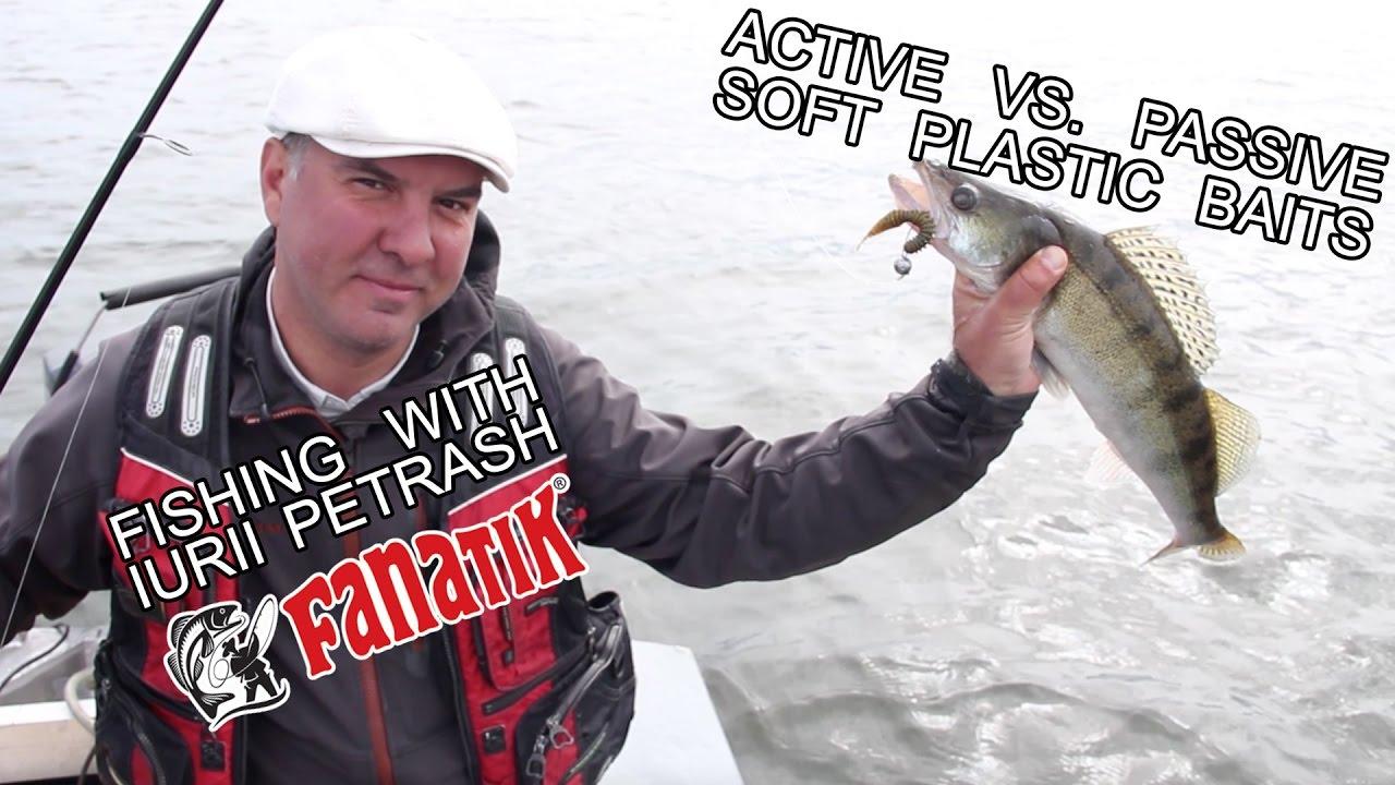 Active Vs  Passive Soft Plastic Baits