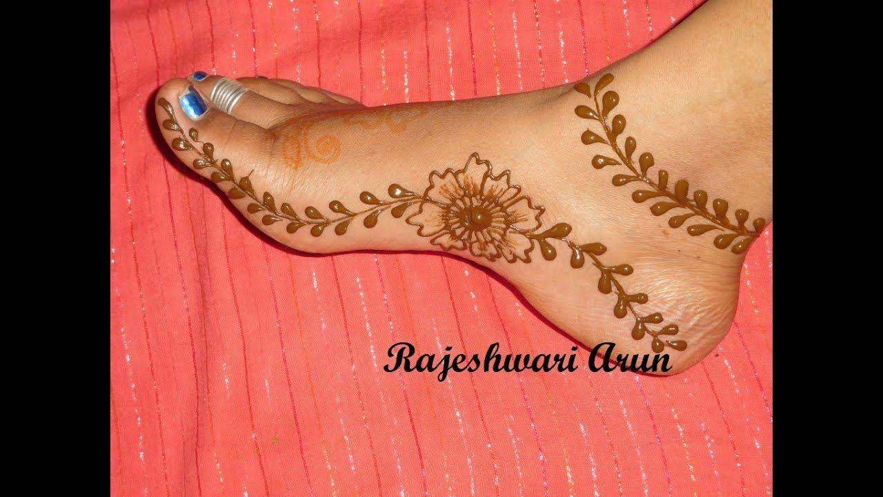 Simple Arabic Mehndi Designs For Feet 2017 Arabic Mehndi Designs