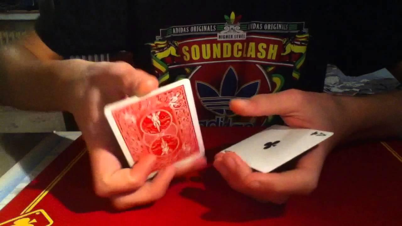 tour de magie carte qui change de couleur