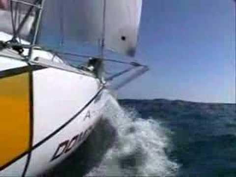 Andrew Wood 2007 Mini Transat sailing Campaign