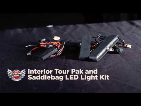 Interior Tour Pak & Saddlebag LED Light Kits from Custom Dynamics®
