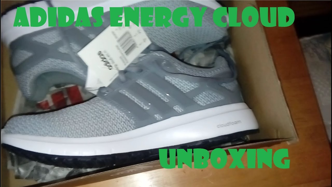 reputable site bcfdc 984a7 Adidas Energy Cloud unboxing