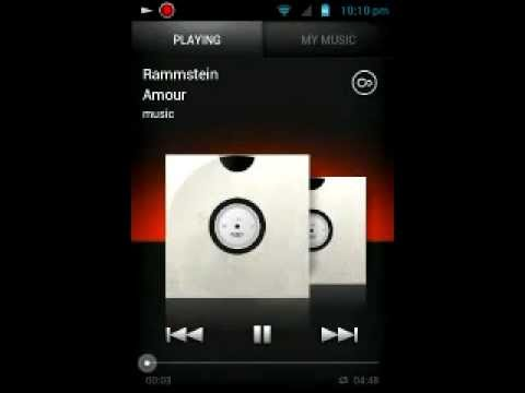 Sony Live Walkman with Xperia S music player (DEMO) Mp3
