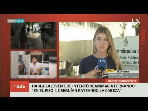 Gesell: Crudo Testimonio De Quien Intentó Reanimar A Fernando Báez Sosa