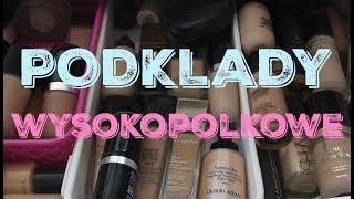 Moja kolekcja kosmetyków - część II - podkłady wysokopółkowe + zaproszenie