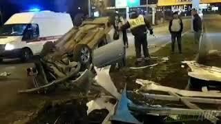 Во Владивостоке пьяный водитель устроил серьёзное ДТП