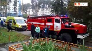 В пожаре на Волгоградской пострадали люди