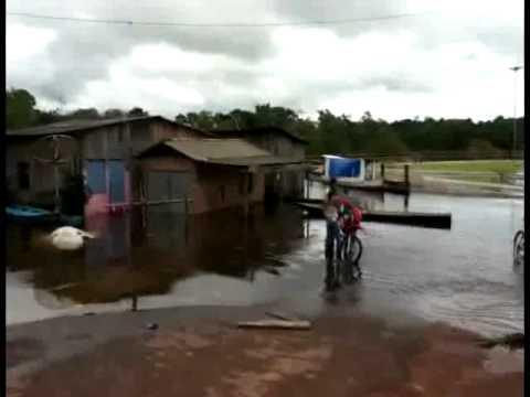 Enchente em Porto Grande - Amapá