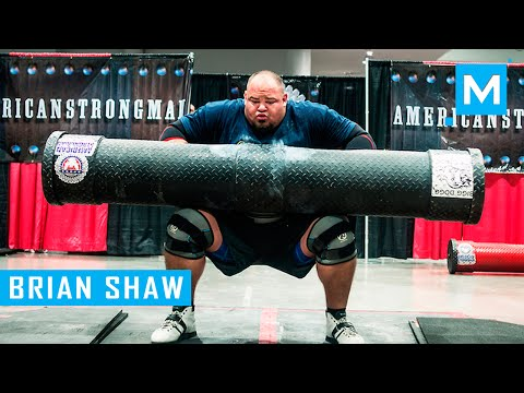 Brian Shaw Strongman Training with World's Strongest Man ...