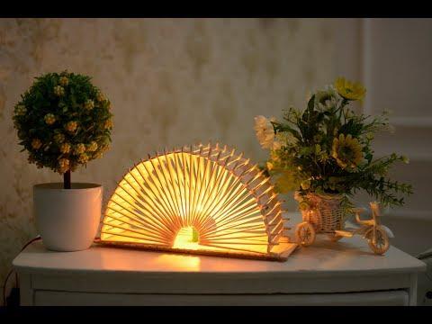 Cara Buat Lampu Tidur Keren Pakai Kardus | DIY #1.