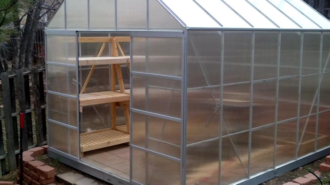 maxresdefault - 25+ Small Greenhouse Shelving Ideas PNG