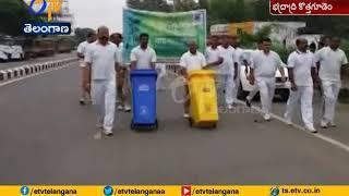 CRPF Jawans Rally For Awareness | on Swachh Bharath | at Bhadrachalam