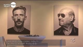 La mostra di Piero Martinello nel programma Mattino 5