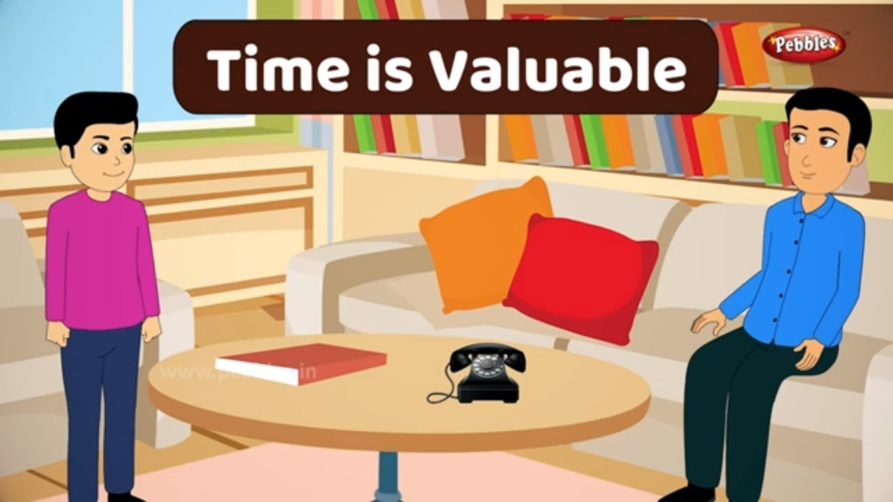 Time is Valuable Story in English | Moral Stories in English