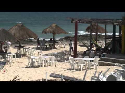 Cozumel Beaches on the Windward side of the island